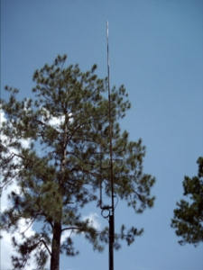 KB9VBR 6 meter J-Pole installed at KI4JVK location