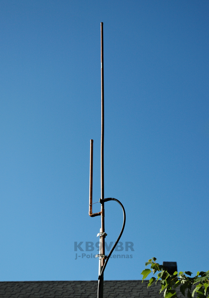 KB9VBR 2 meter J-Pole antenna