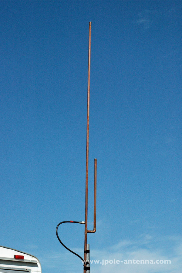 Marine Scanner Public Safety J-Pole Antenna