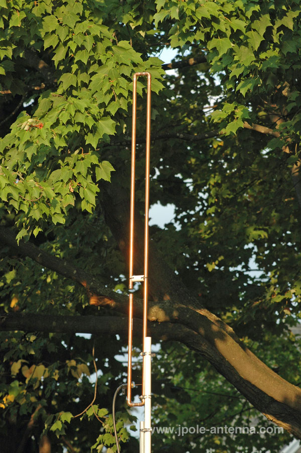 KB9VBR 2 meter Slim Jim J-Pole amateur radio Antenna