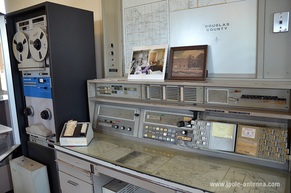 The alarm boxes were replaced in the 1960's by a more modern dispatch system. This console is a precursor to the modern 911 consoles you'll find in today's dispatch centers.