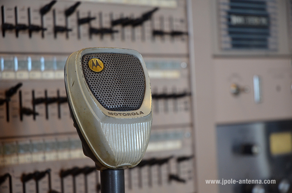 I love those old Motorola microphones