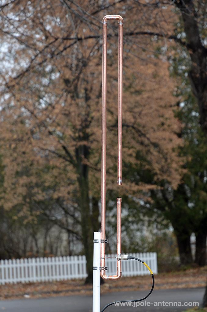 Weather band antenna