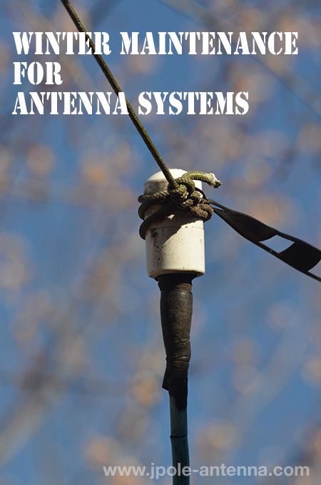 Winter Antenna maintenance