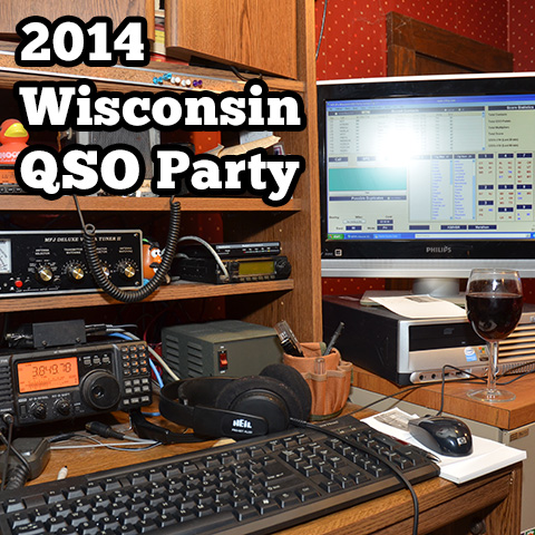 2014 Wisconsin QSO Party Wrap-up
