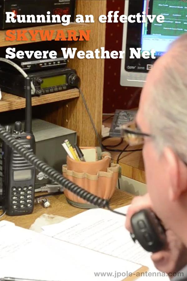 Running an effective SKYWARN severe weather net