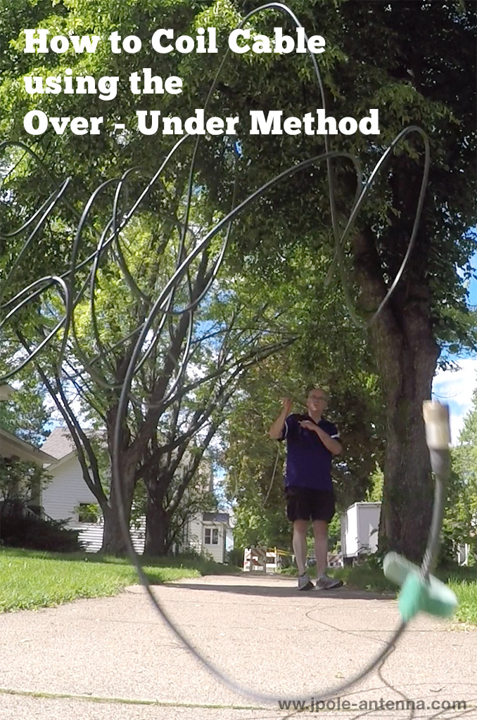 How to Coil Cable using the Over Under Method