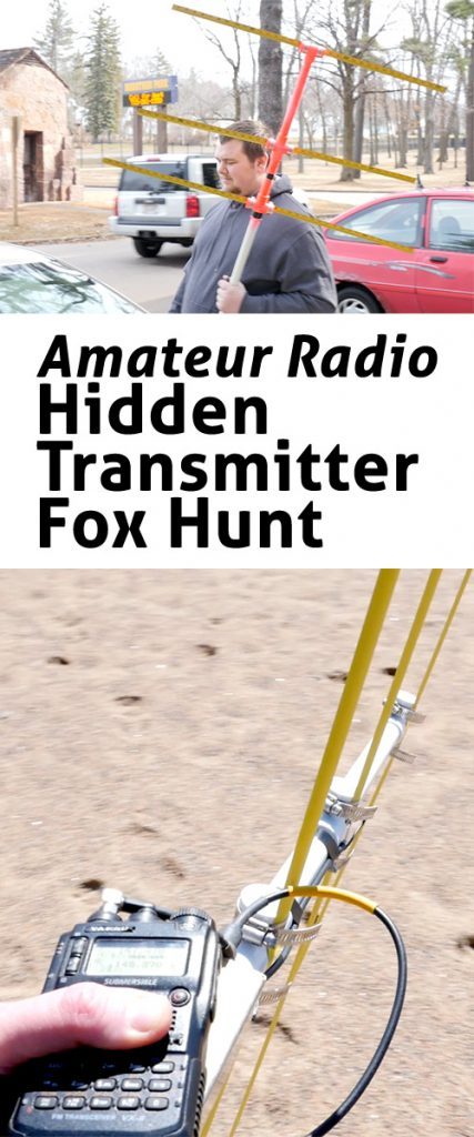 radio foxhunt michigan amateur