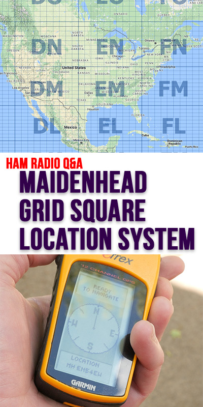 Maidenhead Grid Square Locator System KBVBR JPole Antennas - Us maidenhead grid square map