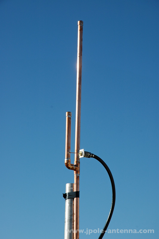 462 MHz Land Mobile (GMRS) J-Pole Antenna