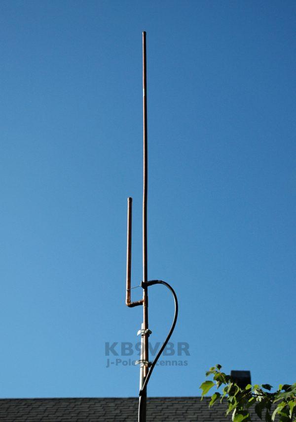 KB9VBR 2 meter J-Pole antenna