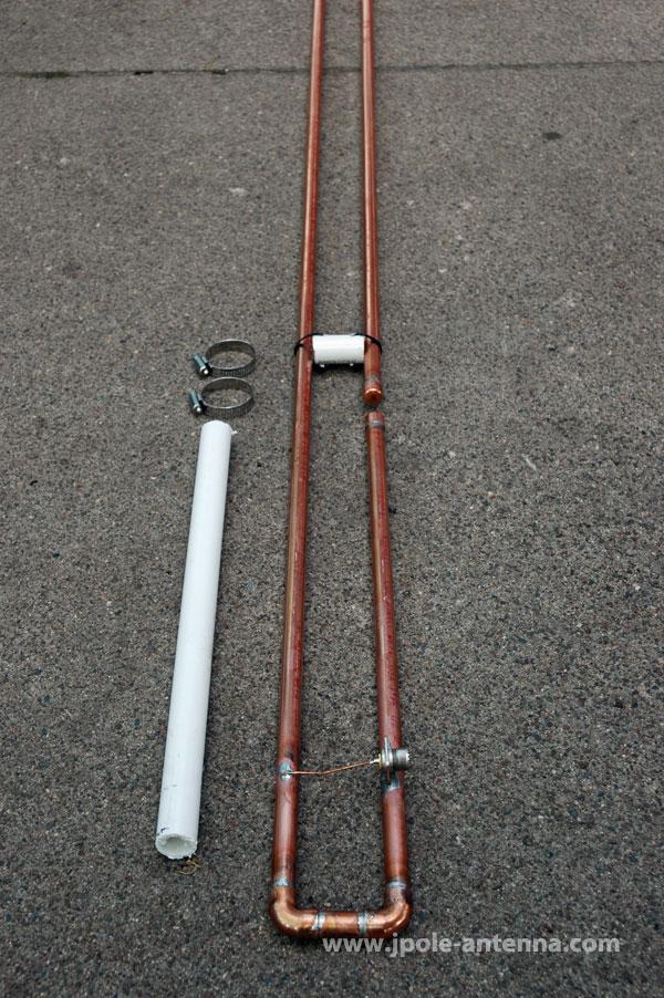 KB9VBR Slim Jim Mounting & 2 Meter Slim Jim Antenna | KB9VBR J-Pole Antennas