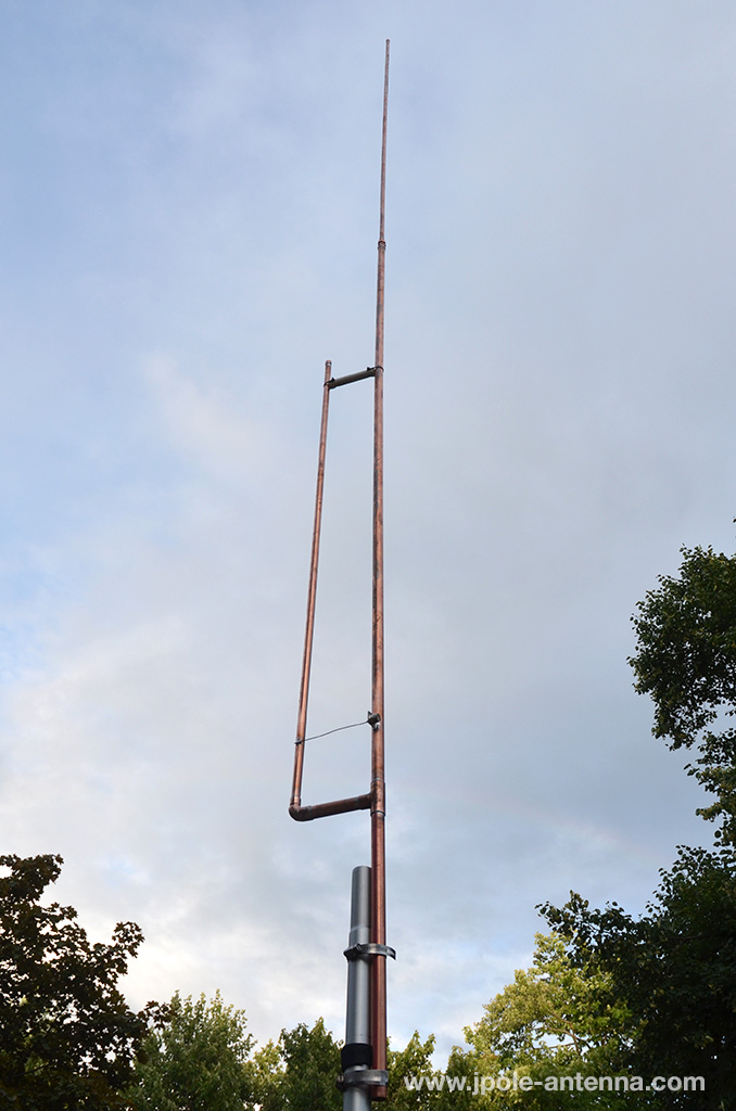 6 Meter J-Pole Amateur Radio Antenna