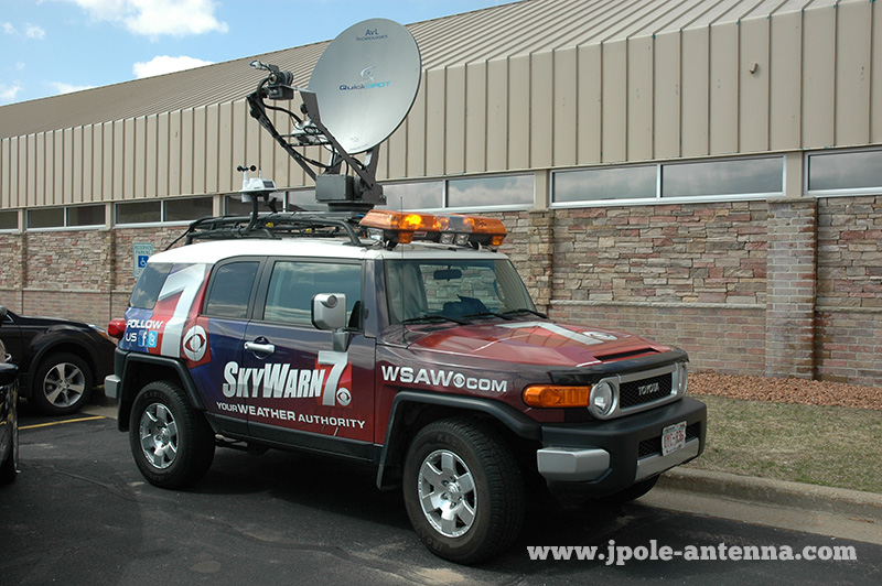 skywarn 7 severe weather storm chase vehicle