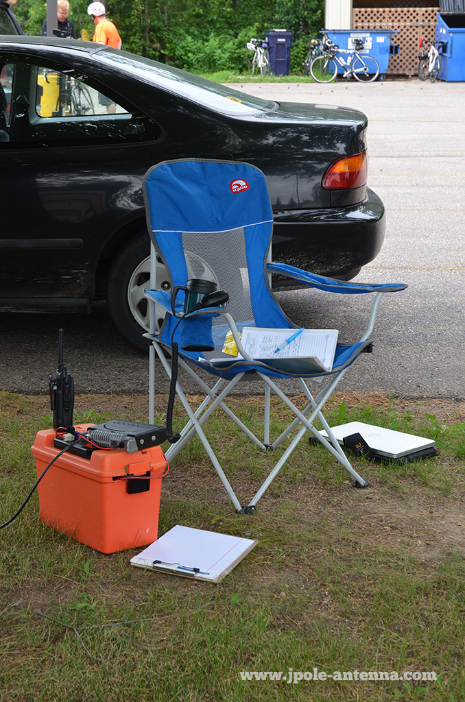 Portable-station-setup