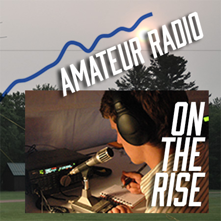 Amateur Radio Licenses on the rise
