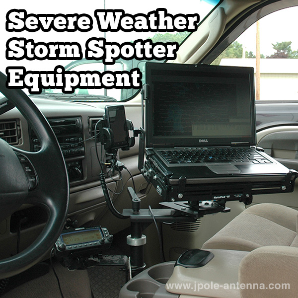 Severe Weather Storm Spotter Equipment