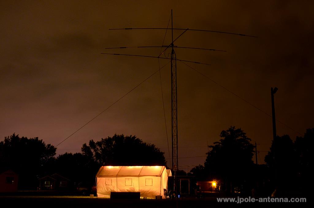 Field-Day-2014-Night-triband-beam