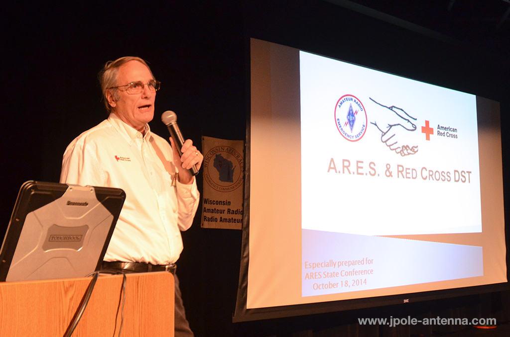 2014-ARES-conference-Stephen-Buck-Red-Cross-keynote