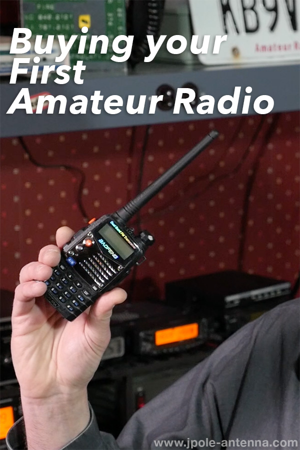 Buying your First Amateur Radio