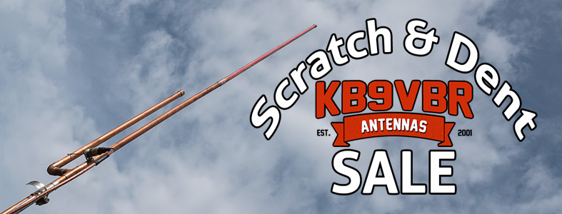 KB9VBR Antennas Scratch and Dent Sale