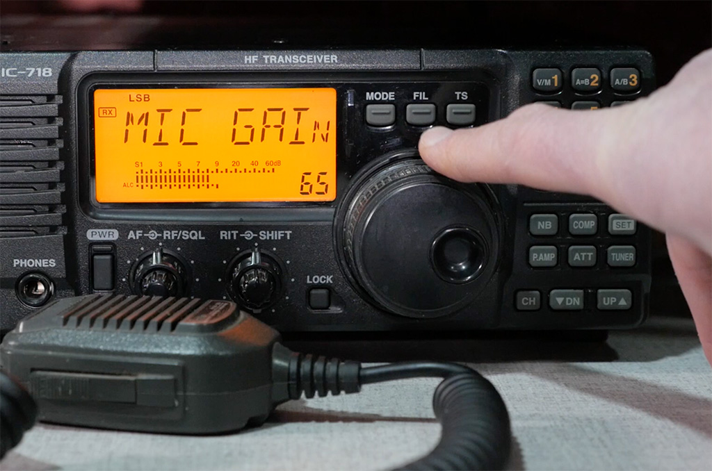 Icom IC-718 Transceiver Functions and Controls | KB9VBR J-Pole Antennas