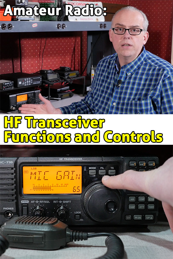 Icom IC-718 Transceiver Functions and Controls | KB9VBR J
