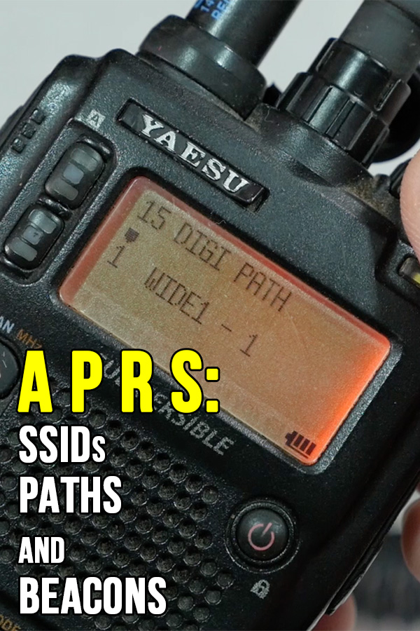 APRS: SSIDs, Paths, and Beacons | KB9VBR J-Pole Antennas