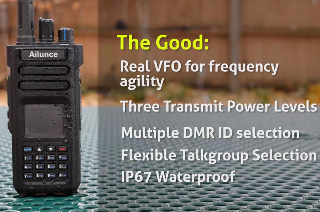 Ailunce HD1 DMR Dual Band Handheld Radio Review   KB9VBR J
