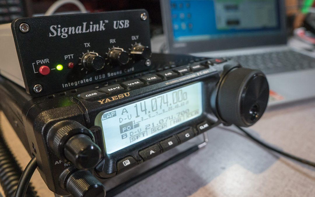 Yaesu FT-891 Setup for Digital Modes