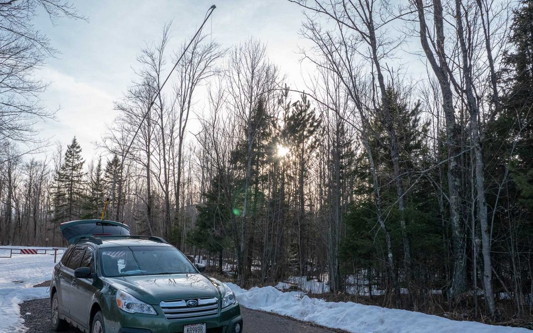 Wisconsin QSO Party: 4 Parks 4 Counties POTA Mobile