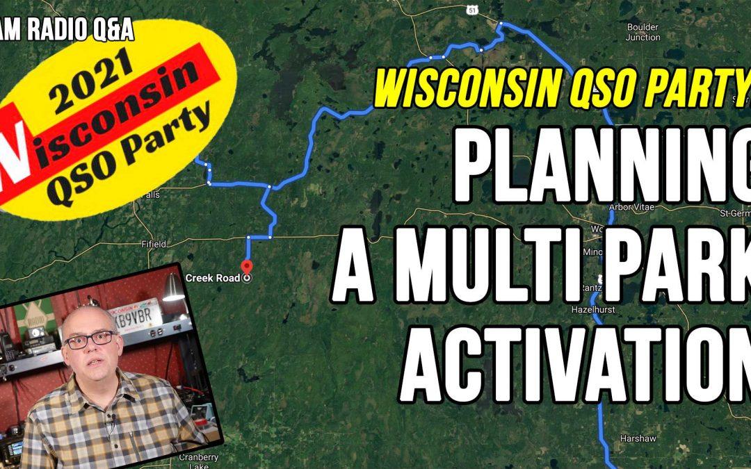 Planning a multi-park POTA activation