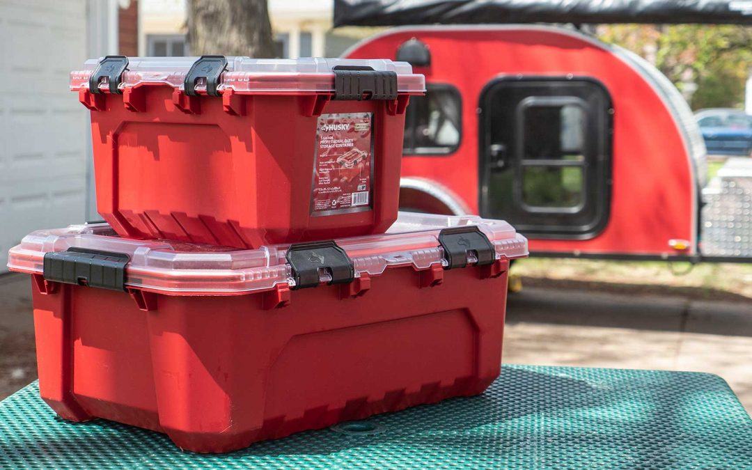 Husky Professional Waterproof Storage Containers